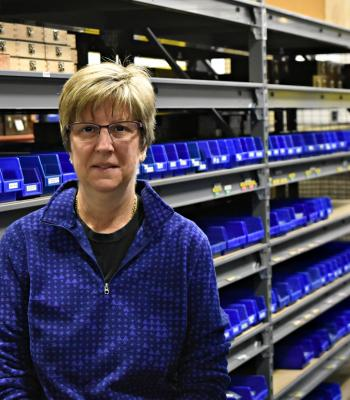 Evelyn Miller Stock Room Manager